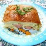 Наливной пирог с капустой Ингредиенты:Майонез