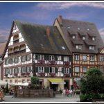 Фахверковый сказочный городок Генгенбах