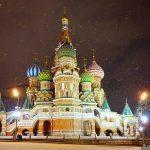 Москва. Путешествие в Рождество…